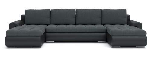 Sofini Ecksofa Tokio III mit Schlaffunktion Best ECKSOFA Couch mit - Sofini Ecksofa Tokio III mit Schlaffunktion! Best ECKSOFA! Couch mit Bettkästen! (Cas 574+ Soft 11)